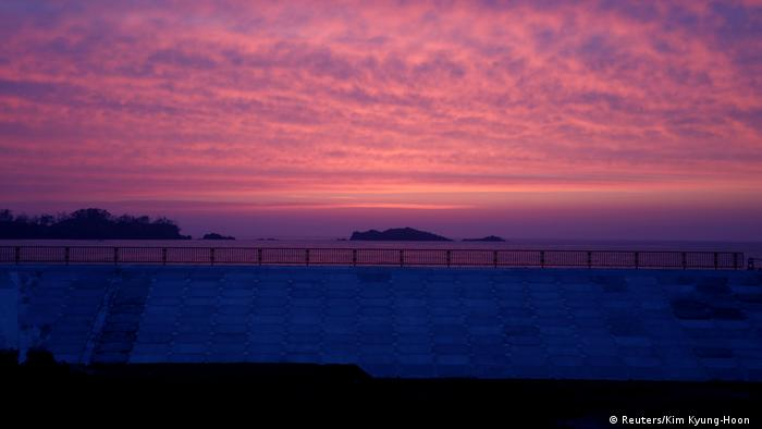 The sun rises over a beach in Kesennuma, Miyagi Prefecture (Reuters/Kim Kyung-Hoon)