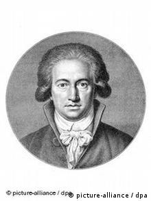 German writer Johann Wolfgang von Goethe