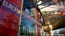 Eingang des Europäischen Gerichtshofs für Menschenrechte