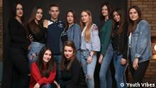 Teenagers write for Teenagers: The team of the new Website Youth Vibes in south Serbia. (Youth Vibes)