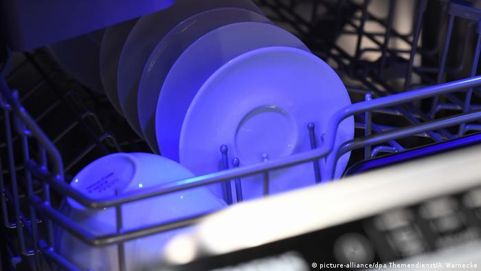Микробы в посудомоечной машине