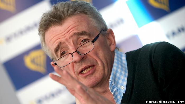Ryanair Michael O'Leary (picture-alliance/dpa/T. Frey)