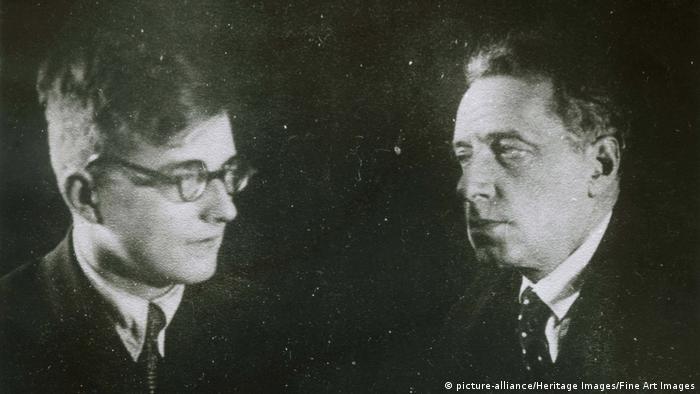 Всеволод Мейерхольд и Дмитрий Шостакович
