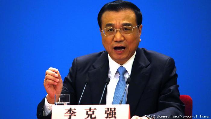 China Li Keqiang (picture-alliance/Newscom/S. Shaver)