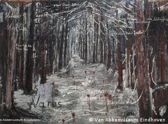 Ансельм Кифер. Тевтобургский лес