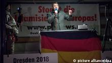 Pegida-Kundgebung in Dresden (picture alliance/dpa)