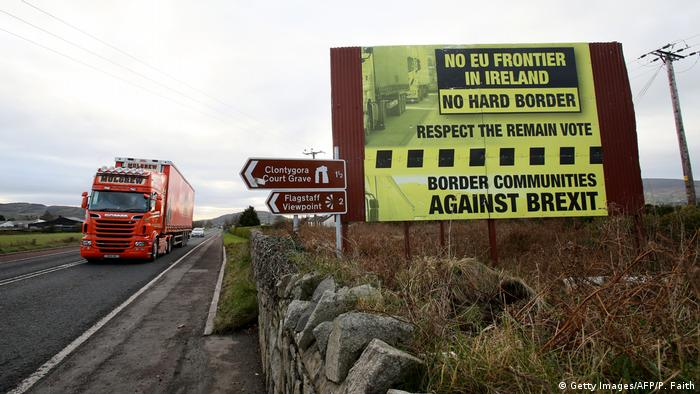 Irland Grenze Zu Nordirland (Getty Images/AFP/P. Faith)