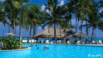 Swimmingpool, Club MED, Punta Cana, La Altagracia, Dominikanische Republik