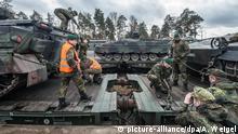 Deutschland Schützenpanzer des Typs Marder