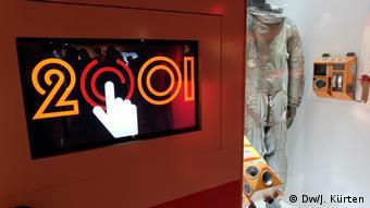 Ausstellung 2001: Odysee im Weltraum von Stanley Kubrick im Frankfurter Filmmuseum