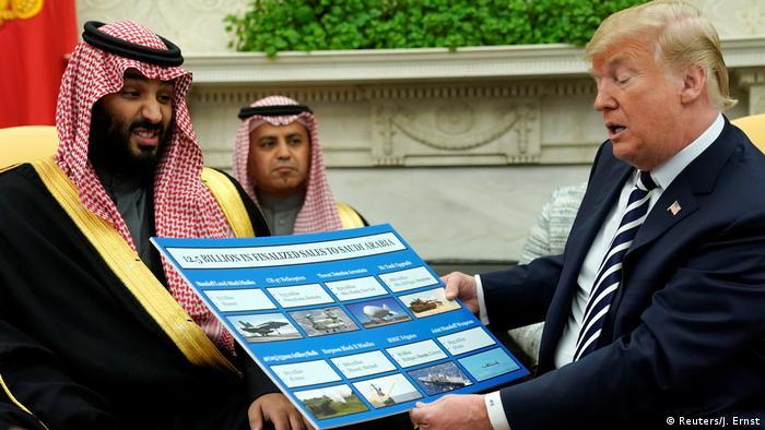 USA Mohammed bin Salman, Kronprinz Saudi-Arabien & Donald Trump in Washington