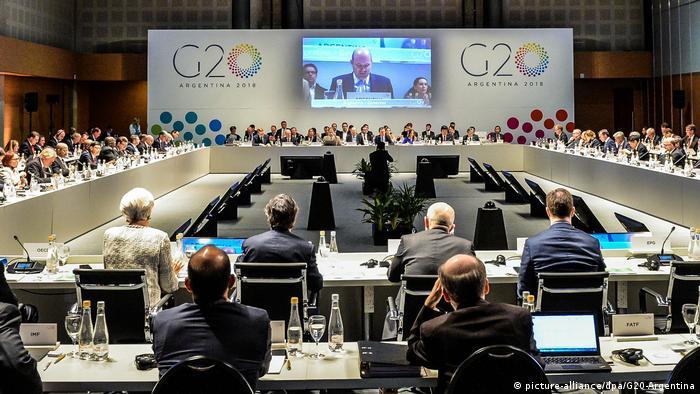 встреча министров финансов G20 в Буэнос-Айресе (фото из архива)