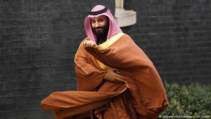 London Mohammed bin Salman (picture-alliance/empics/V. Jones)