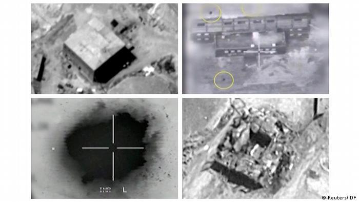 Israel bestätigt Angriff auf mutmaßlichen syrischen Reaktor 2007 (Reuters/IDF)