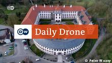 Elisabethenburg Meiningen Projekt #DailyDrone Vorschaubild für Artikel Luftaufnahme des Ortes mit DailyDrone - Logo Juli 2016
