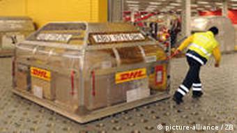 DHL center in Leipzig