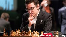 Schach - London Chess Classic - Fabiano Caruana (picture alliance/AA/R. Tang)