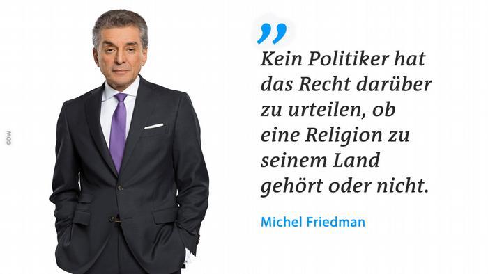 Zitattafel - Michel Friedman