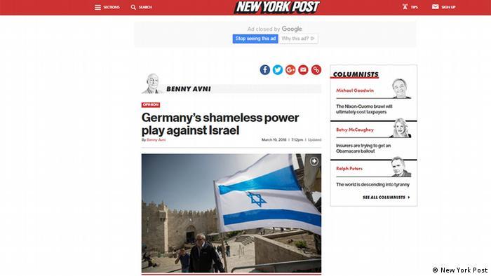Screenshot New York Post (New York Post)