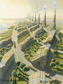 Luc Schuiten: The hollow City