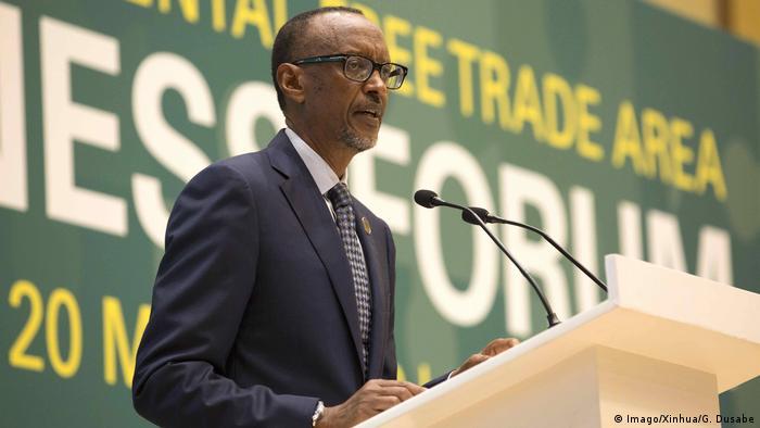 Ruanda Kigali Unterzeichnung Afrikanisches Freihandelsabkommen