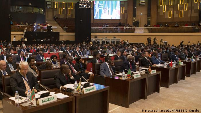 Kigali, Rwanda - Fourty-four countries sign African free trade agreement