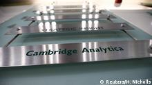 Großbritannien Sitz von Cambridge Analytica in London