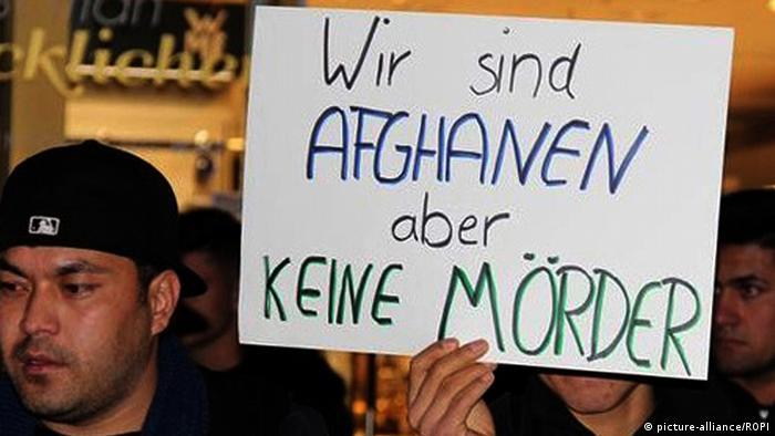 Manifestacija izbjeglica u Freiburgu