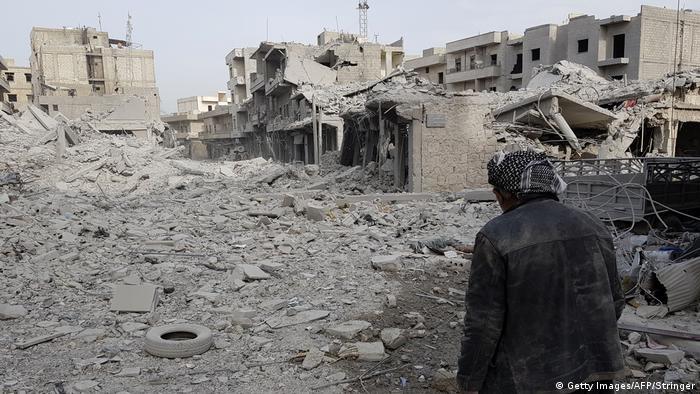 Syrien Afrin - Zerstörung nach türkischer Offensive