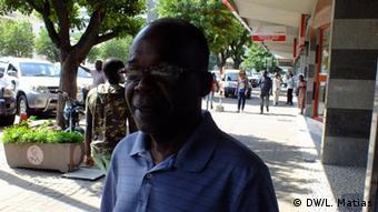 Mosambik - Alexandre Baciao Präsident der Verbraucherschutzvereinigung