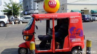 Mosambik - Txoplea Taxi in Maputo-Mosambik