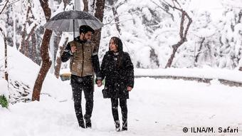 Iran Wintereinbruch