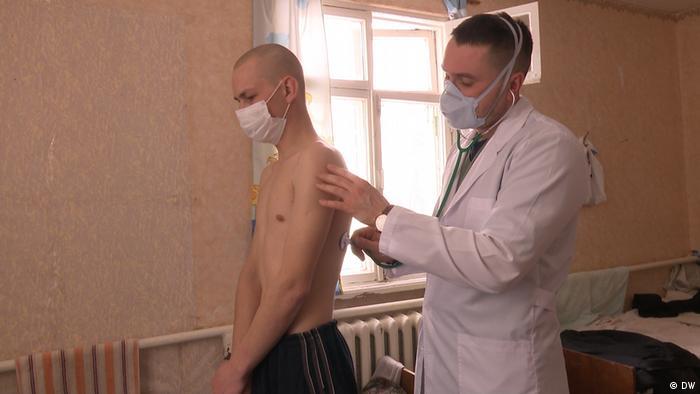 Multiresistente Tuberkulose in der Ukraine (DW)