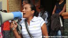 Kolumbien - Demo gegen Wasserkraftwerk Hidroituango