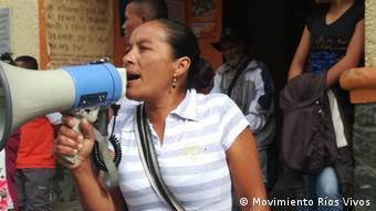 Kolumbien - Demo gegen Wasserkraftwerk Hidroituango (Movimiento Ríos Vivos)