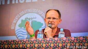 Gilberto Cervinski, Movimento dos Atingidos por Barragens   Koordinator Alternatives Weltwasserforum
