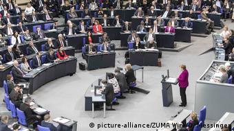 Merkel parlamentodaki konuşmasında Afrin'e değindi