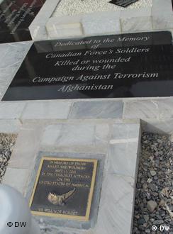 Pllakë përkujtimore për viktimat e 11 shtatorit 200, Kandahar.