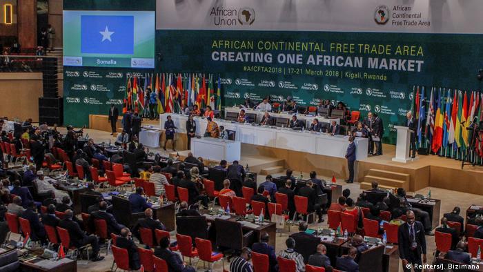 44 afrikanische Staaten unterschreiben Freihandelsabkommen in Kigali (Reuters/J. Bizimana)
