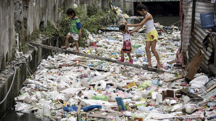 Weltwassertag Slum in Manila (Getty Images/AFP/N. Celis)
