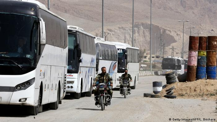 Evakuacija pobunjenika Haraste, Istočna Guta