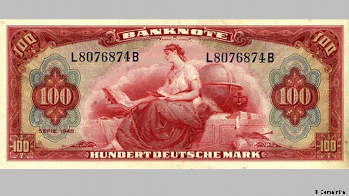 Купюра 100 марок