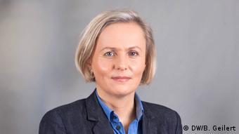 Сандра Петерсманн, журналістка DW