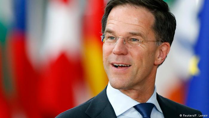 Belgien - EU Gipfel - Premierminister Mark Rutte von Holland (Reuters/F. Lenoir)