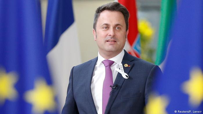 Belgien - EU Gipfel - Premierminister Xavier Bettel von Luxemburg (Reuters/F. Lenoir)