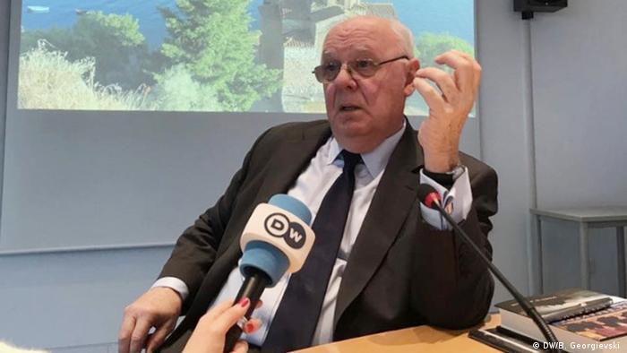 Bonn - James Pardew, ehemaliger US Diplomat und Botschafter (DW/B. Georgievski )