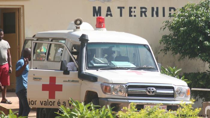 Clínica de maternidade na província de Inhambane, sul de Moçambique