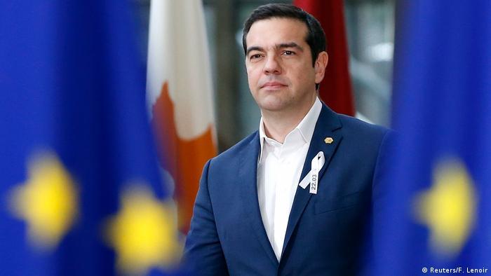Belgien EU-Gipfel - Premierminister Alexis Tsipras Griechenland