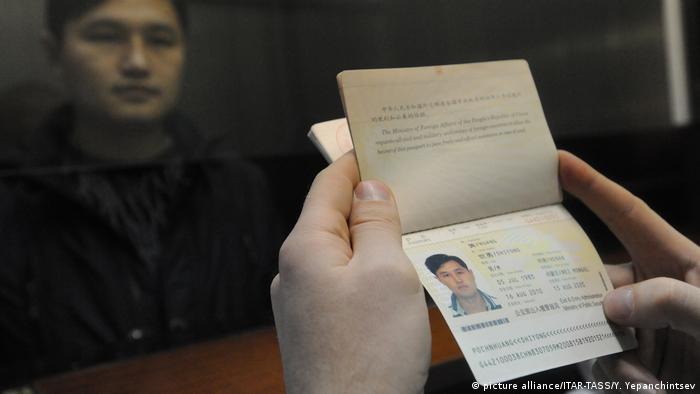 Zabaikalsk Checkpoint an der russisch-chinesischen Grenze