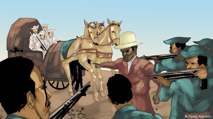 African Roots Hendrik Witbooi (Comic Republic)